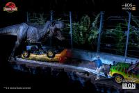 Gallery Image of T-Rex Attack Set A and Set B 1:10 Scale Statue