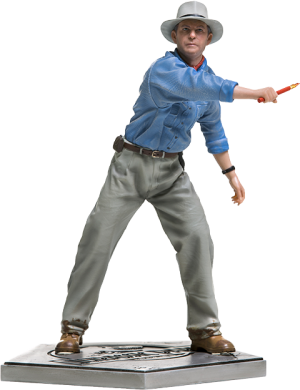 Alan Grant Statue