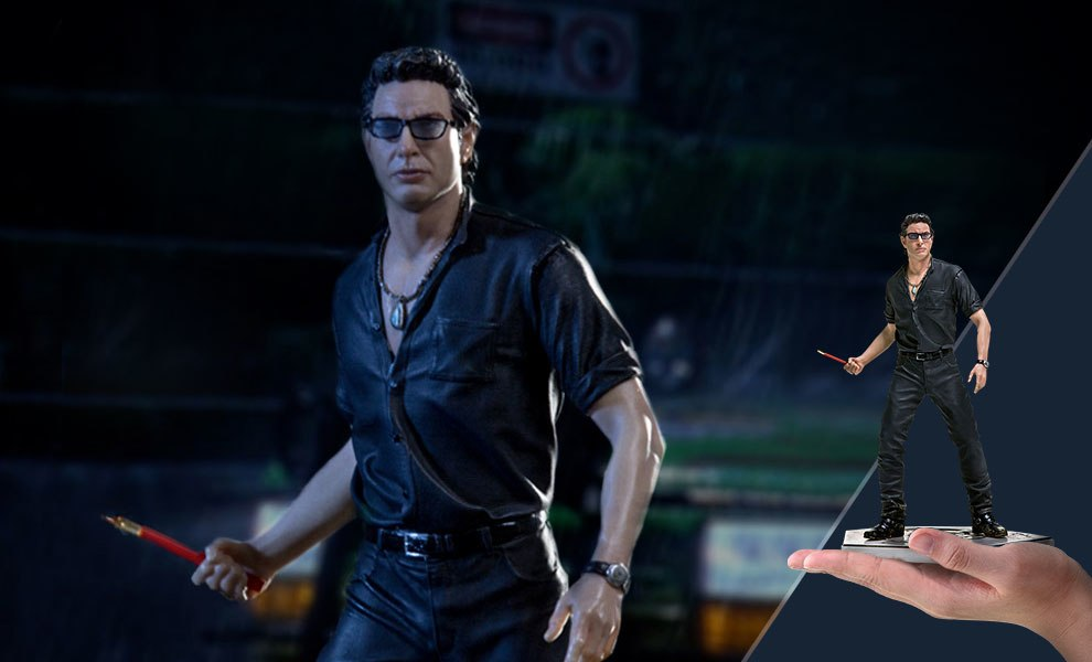 Gallery Feature Image of Ian Malcolm 1:10 Scale Statue - Click to open image gallery