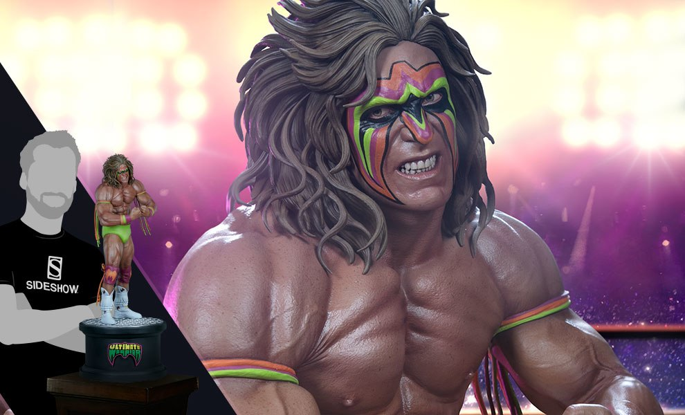 Gallery Feature Image of Ultimate Warrior Statue - Click to open image gallery