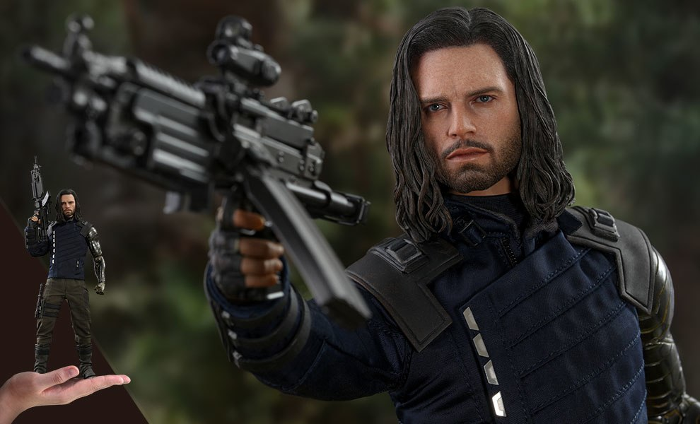 Gallery Feature Image of Bucky Barnes Sixth Scale Figure - Click to open image gallery