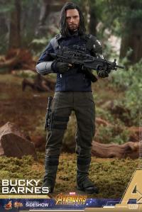 Gallery Image of Bucky Barnes Sixth Scale Figure