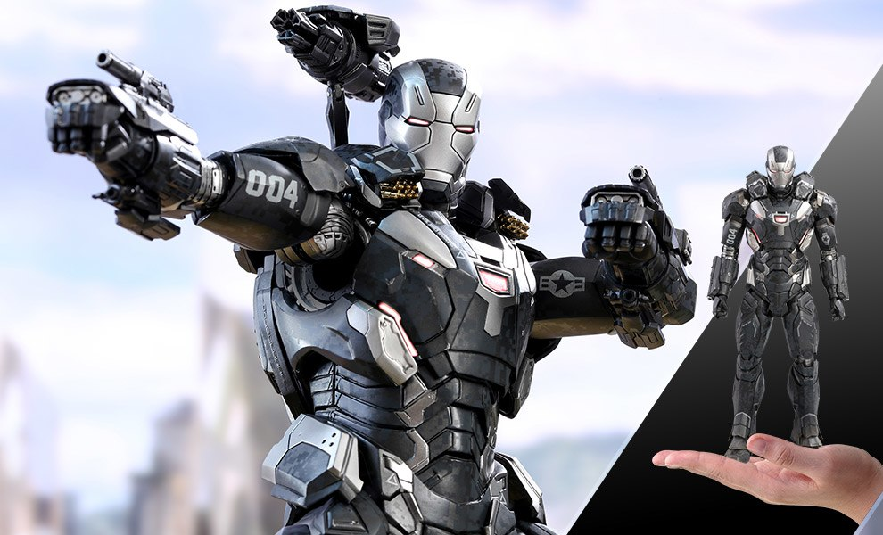 Gallery Feature Image of War Machine Mark IV Sixth Scale Figure - Click to open image gallery