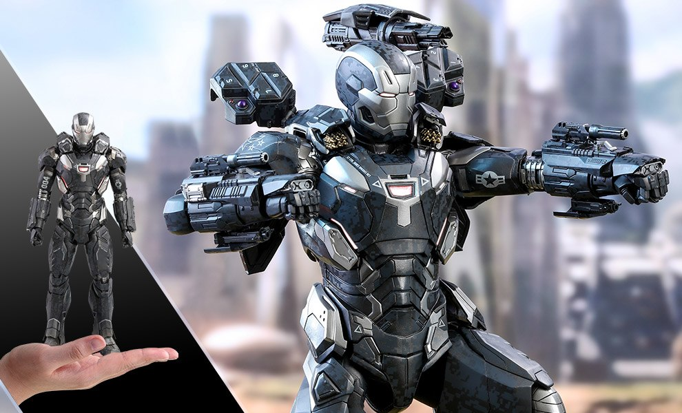 Gallery Feature Image of War Machine Mark IV Special Edition Sixth Scale Figure - Click to open image gallery