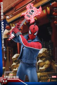 Gallery Image of Spider-Man Spider-Punk Suit Sixth Scale Figure