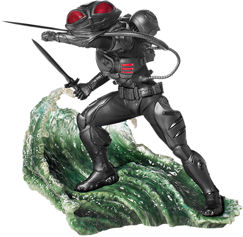 Iron Studios Black Manta 1:10 Scale Statue