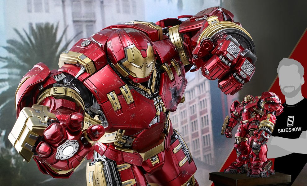 Gallery Feature Image of Hulkbuster Deluxe Version Sixth Scale Figure - Click to open image gallery