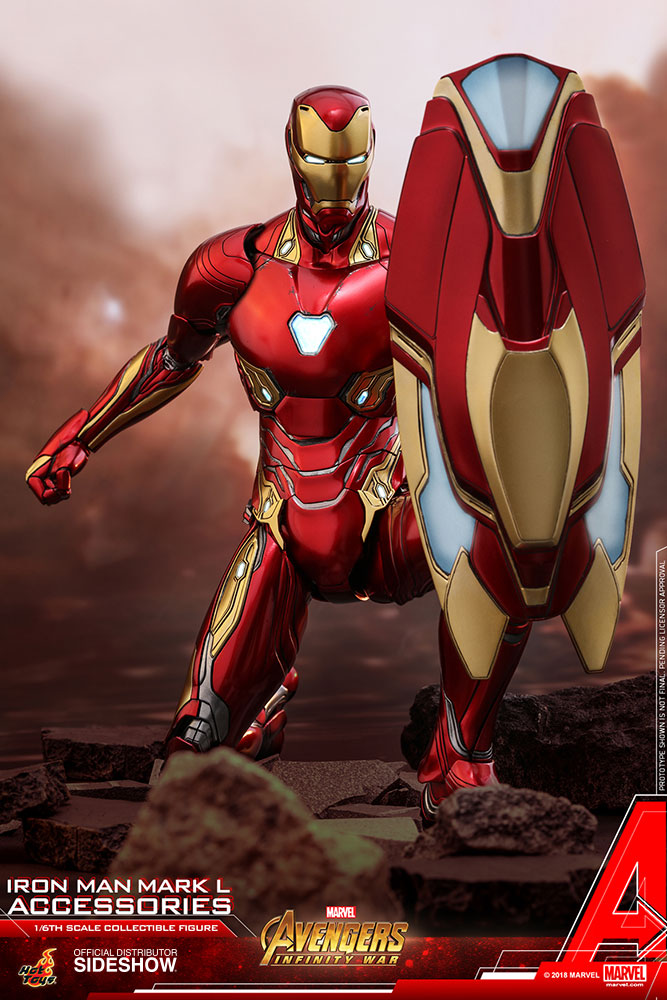 Marvel Iron Man Mark L Accessories Special Edition Set