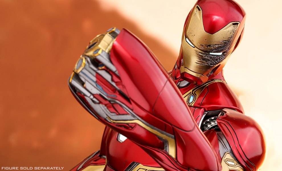 Gallery Feature Image of Iron Man Mark L Accessories Special Edition Collectible Set - Click to open image gallery