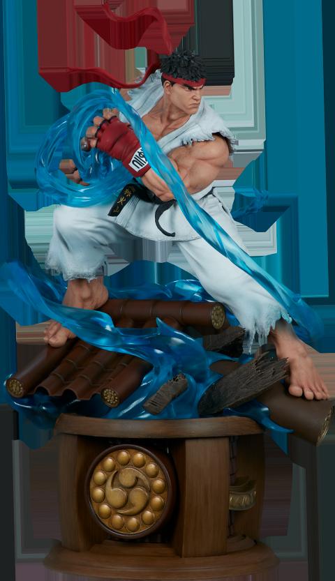 Pop Culture Shock Ryu Statue
