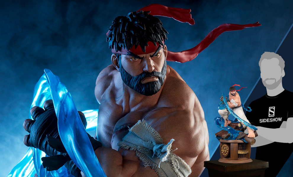 Gallery Feature Image of Battle Ryu Statue - Click to open image gallery