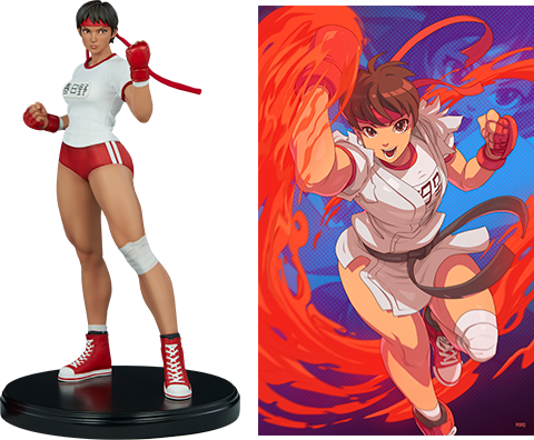 PCS Collectibles Sakura Gym Statue