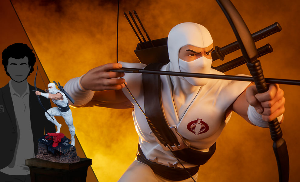 Gallery Feature Image of Storm Shadow Arashikage Statue - Click to open image gallery