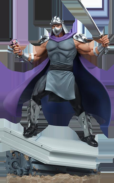 PCS Shredder Statue