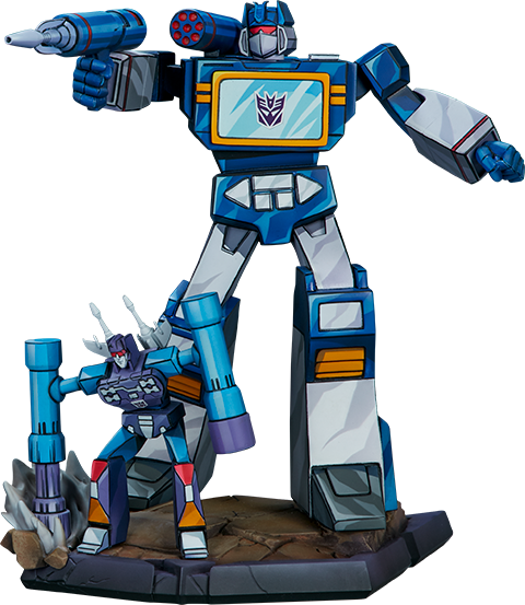 Pop Culture Shock Soundwave Statue