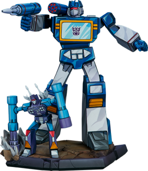 Soundwave Statue