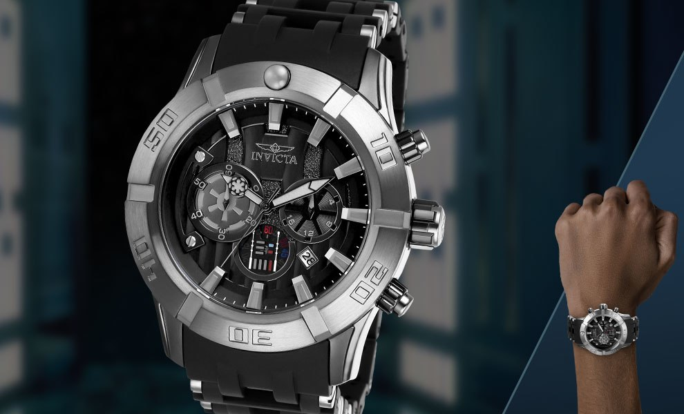 Gallery Feature Image of Darth Vader Mens Watch - Model 26548 Jewelry - Click to open image gallery
