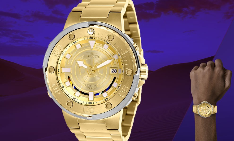 Gallery Feature Image of C-3PO Mens Watch - Model 26114 Jewelry - Click to open image gallery