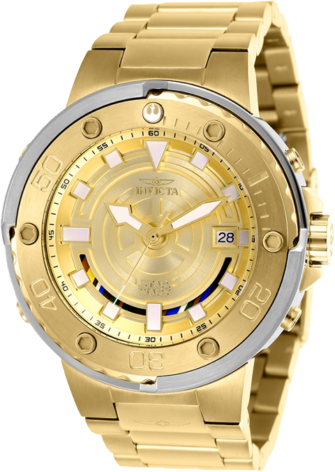 Invicta C-3PO Mens Watch - Model 26114 Jewelry