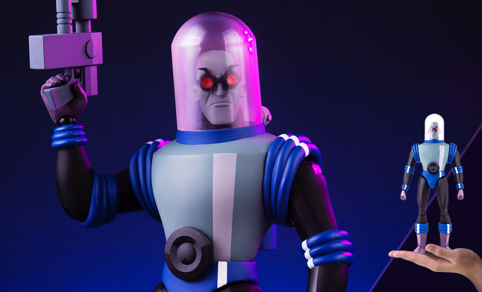 Gallery Feature Image of Mr Freeze Sixth Scale Figure - Click to open image gallery