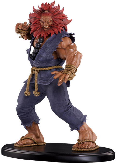Pop Culture Shock Akuma 10 Year Deluxe Statue
