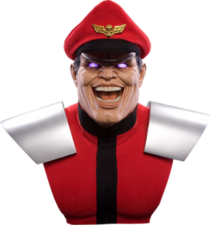 M Bison Pyscho Power Life-Size Bust