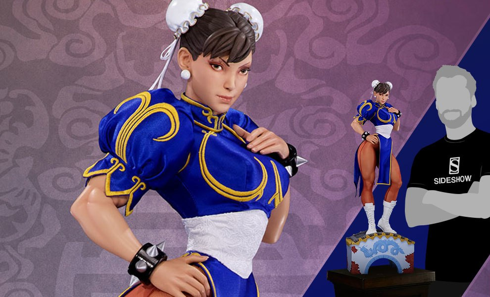 Gallery Feature Image of Chun-Li Classic Qipao Statue - Click to open image gallery