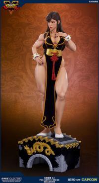 Gallery Image of Chun-Li Battle Dress Statue