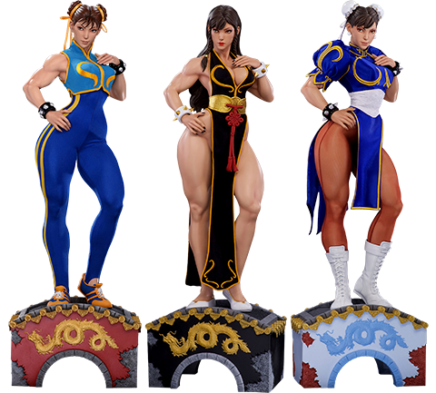 PCS Collectibles Chun-Li Legacy Collectible Set