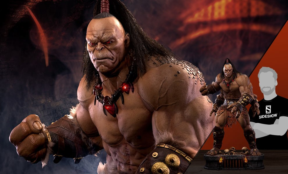 Gallery Feature Image of Goro Statue - Click to open image gallery