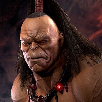 Mortal Kombat Goro Statue By Pop Culture Shock Sideshow Collectibles