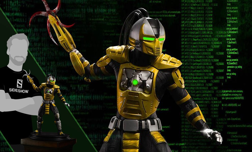Gallery Feature Image of Cyrax MKX Statue - Click to open image gallery