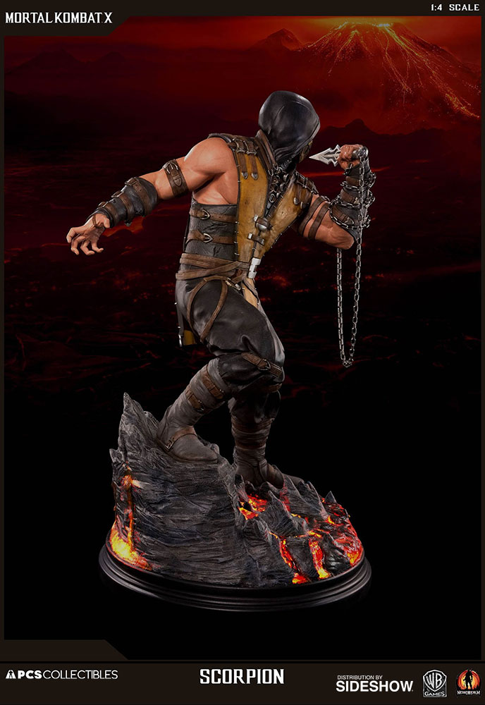 cool mortal kombat scorpion art