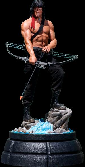 Rambo Statue