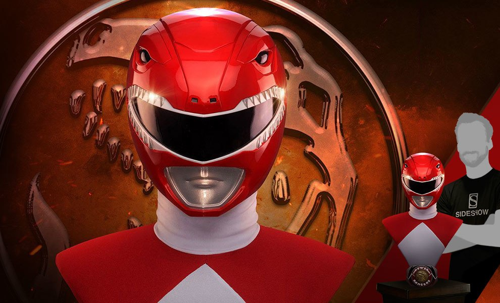 Gallery Feature Image of Red Ranger Life-Size Bust - Click to open image gallery