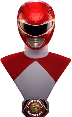 Red Ranger Life-Size Bust