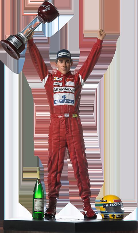 Iron Studios Ayrton Senna 1988 Japan GP Statue