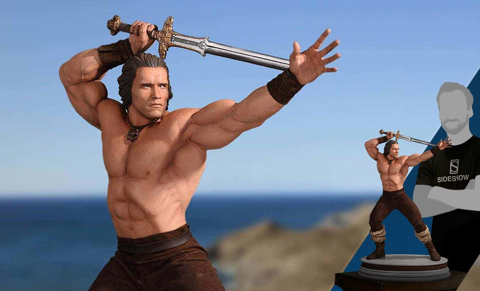 Gallery Feature Image of Conan the Barbarian Statue - Click to open image gallery
