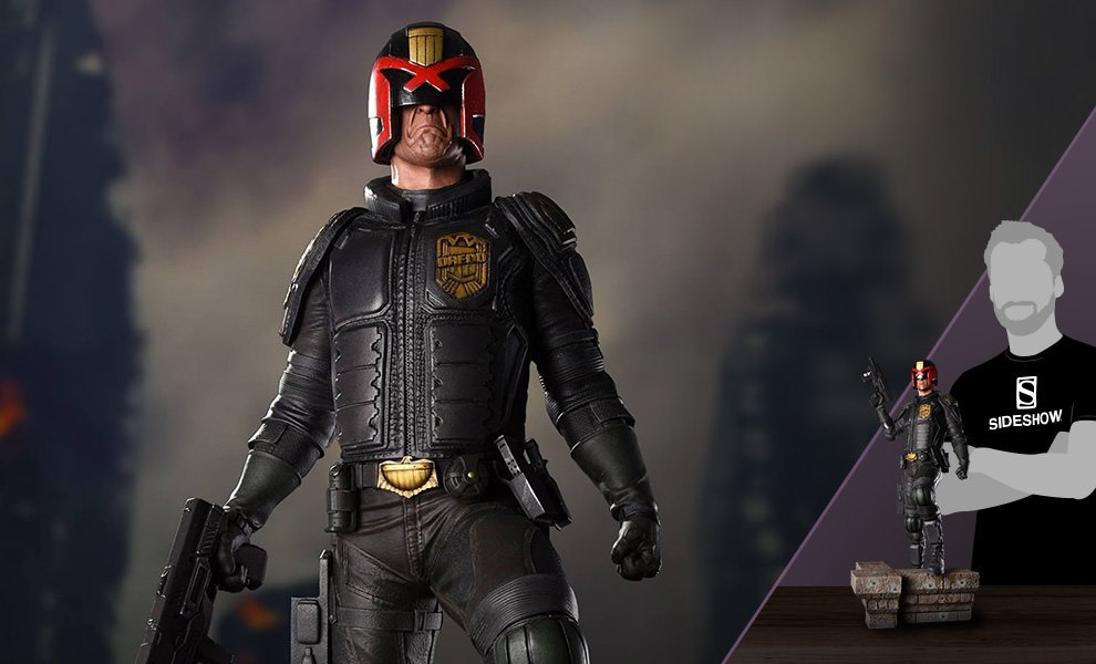 Gallery Feature Image of Judge Dredd Mega City Statue - Click to open image gallery