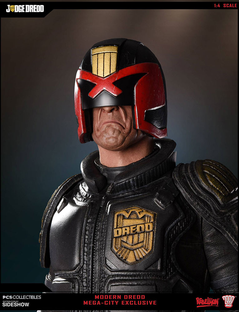 Judge Dredd Mega City Exclusive Edition Prototype Shown