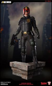 Gallery Image of Judge Dredd Mega City Statue