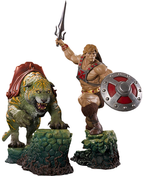 PCS Collectibles He-Man and Battlecat Combo Collectible Set