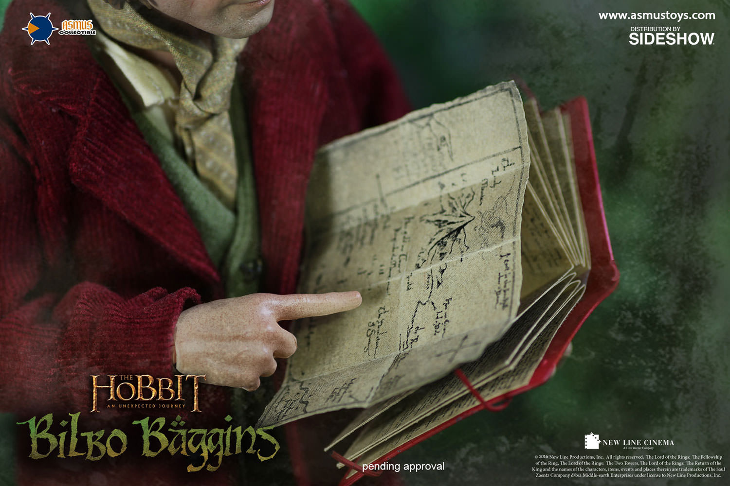 Bilbo Baggins Sixth Scale Figure By Asmus Collectible Toys