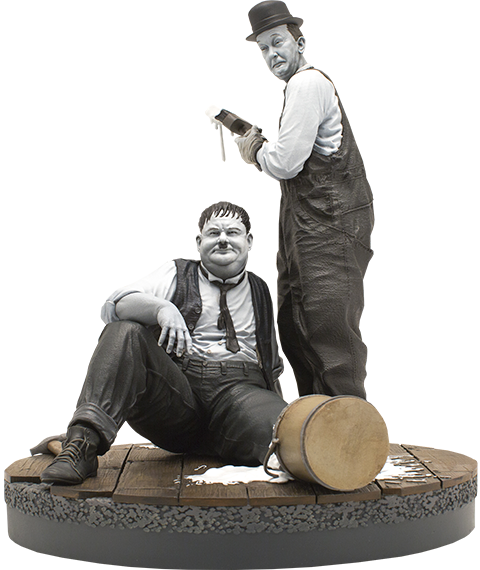 Infinite Statue Stan Laurel and Oliver Hardy Statue