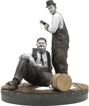 Stan Laurel and Oliver Hardy Statue