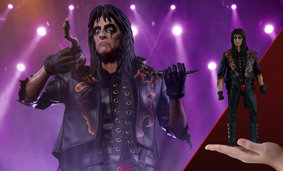Gallery Feature Image of Alice Cooper Sixth Scale Figure - Click to open image gallery