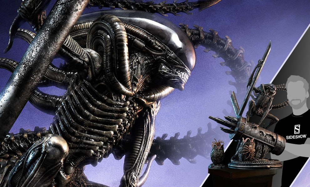 Gallery Feature Image of Scorpion Alien Deluxe Version Statue - Click to open image gallery