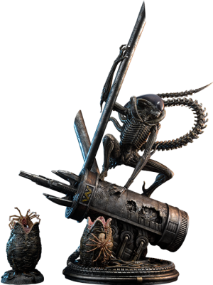 Scorpion Alien Deluxe Version Statue