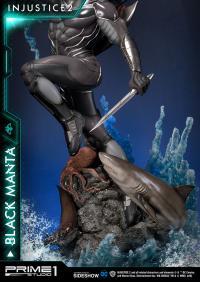 Gallery Image of Black Manta Statue