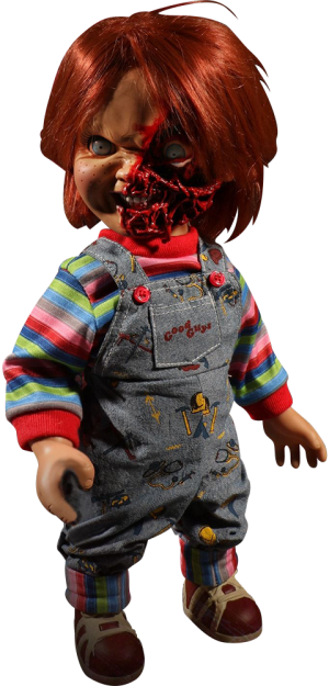 Talking Pizza Face Chucky Collectible Figure